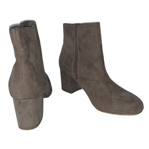 Charlotte Russe Faux Suede Booties